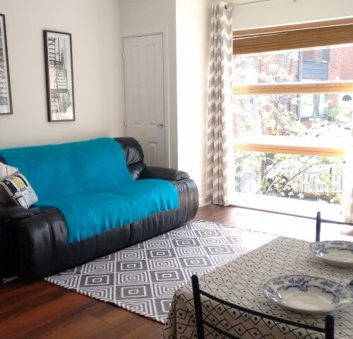 Modern apartment staging