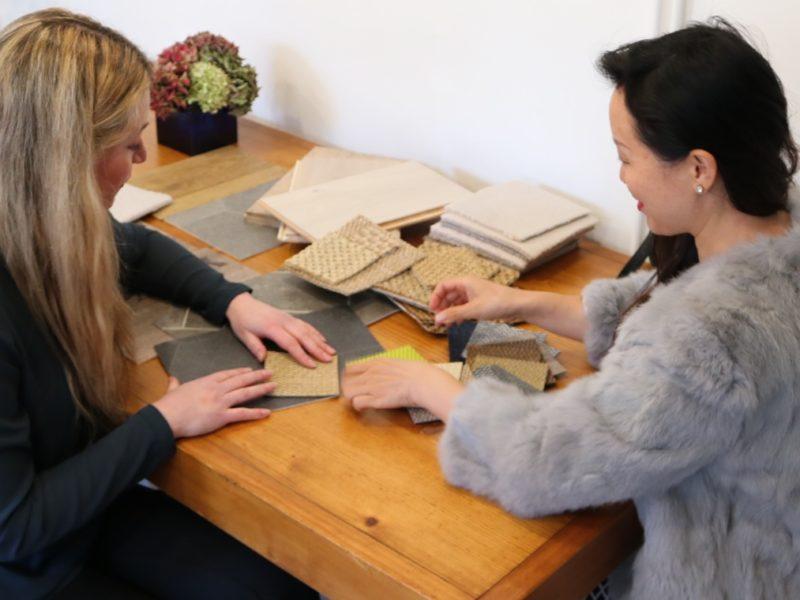 Emma Martin Interiors Client Meeting